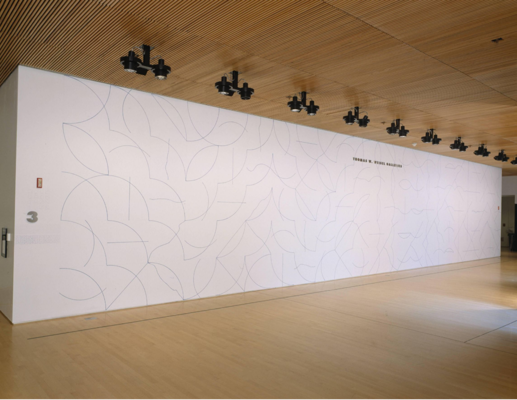 Wall Drawing 132, Sol Lewitt © The LeWitt Estate / Artists Rights Society (ARS), New York